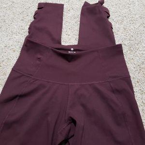 🍁 Apana leggings Burgundy